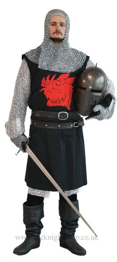 Monty Python black knight chainmail