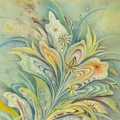 LOve the colors and melting flora.  By artist Nadix.