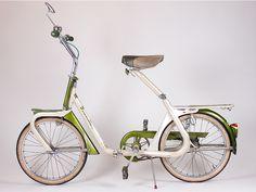 1960s Duemila folding bicycle. Italian.