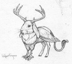 Image result for drawings of creatures created combining animals