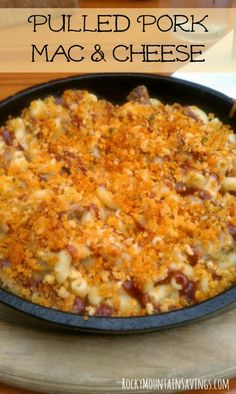 Pulled Pork Mac & Ch