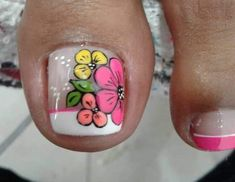 Finger Nail Art, Toe Nail Art, Toe Nails, Mani Pedi, Manicure And Pedicure, Toe Nail Designs, Beauty, Toenails, Designed Nails