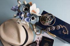 Felt flowers in Memphis TN Ellywise Studios traveler girl jewelry jcrew necklace fedora kate spade watch