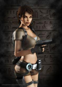 Tomb Raider: Legend - Lara Croft 2 by Irishhips