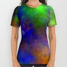 Cloudy Colors All Over Print Shirt by Thea Walstra | Society6