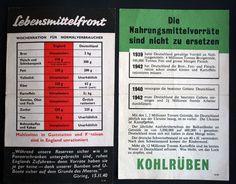 Online veilinghuis Catawiki: Propaganda - 2x Strooibiljet / Affiche - uitgeworpen door de RAF en USAAF. 1944/1945. WO2.