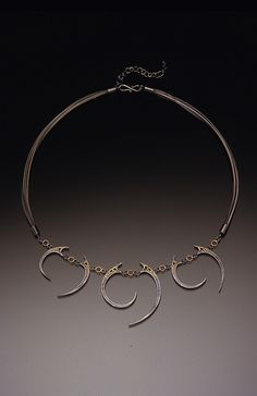 Neckpiece # 2: Stained Cell Series, by Vina Rust