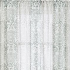 Petra Curtain Panels | Crate and Barrel - can't tell what color these are