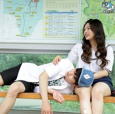 Yook Sungjae and Joy Wgm Couples, Kpop Couples, Cute Couples, Sungjae And Joy, Sungjae Btob, Korean Girl Groups, Boy Groups, Park Joy, Korean Tv Shows