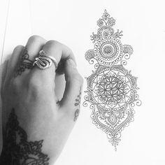 Addition to Catherine's flower of life tattoo #tattoo #tattoodesign…