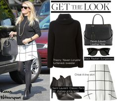 """""""Get the Look: Reese Witherspoon"""" by helenevlacho on Polyvore"""