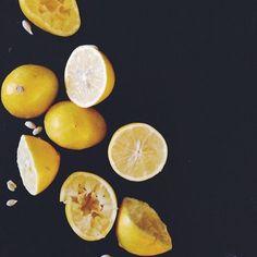 Meyer Lemon Vinaigrette:  4 meyer lemons, juiced 1/2 cup olive oil 1 minced garlic clove 1 tsp dijon mustard 1 tsp salt (or to taste) 1/2 tsp pepper  Whisk ingredients together and let sit for 30 minutes. Keeps in the fridge for a week or so!