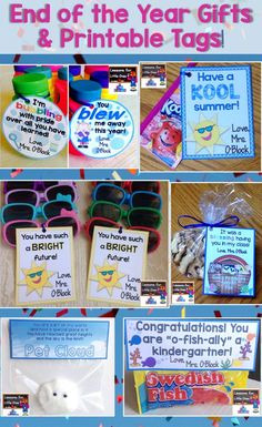 Recently I was asked for end of the year student gift ideas. It required me to go back through my files and find the templates for the student gifts / end of the year celebration favors that I hav…