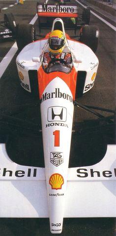 Senna Honda F1