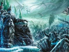 Official fine art prints from Blizzard Entertainment's World of Warcraft®, StarCraft®, and Diablo® are coming to Cook and Becker, starting today! Arthas Menethil, World Of Warcraft Wallpaper, Minion Art, Lich King, Death Knight, Warcraft Art, King Art, Wow Art, Starcraft