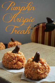 Pumpkin Krispie Treats | eBay