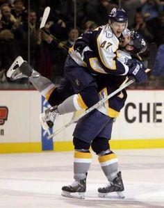 Great celebration by Radulov and Hartnell (2006)