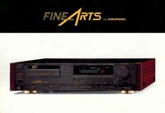 Fine Arts by GRUNDIG DAT-9009 www.1001hifi.com Magnetic Tape, Hifi Audio, Digital Audio, Audiophile, Theatre, Sony, Goodies, Deck, Vintage