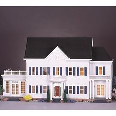 Have to have it. Real Good Toys The Montclair Dollhouse Kit  - 1 Inch Scale - $599 @hayneedle
