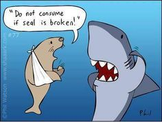 Warning: Do not consume if SEAL is broken.