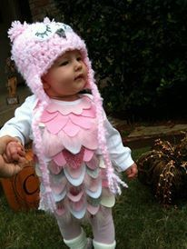 Owl Costume for baby. Perfect for halloween , dress up or theme parties on Etsy, $48.00