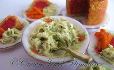 Corned beef dinner by Crown Jewel Miniatures - colcannon