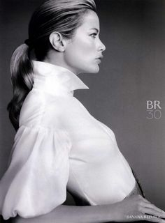 Banana Republic Ad Campaign Fall/Winter 2008: the quintessential white shirt