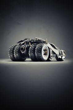 Cars we love by Cihan Ünalan - Batmobile