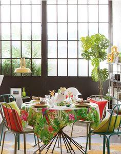 Zara Home Tropical Scene