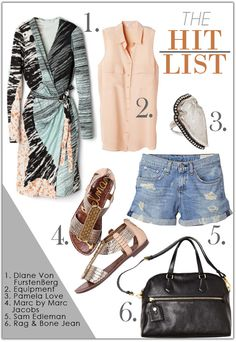Sam Edelman Gatsby sandal on @Celebrity Style Guide | The Hit List