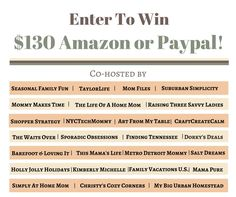 Enter to #win $130 P