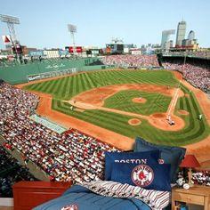 Amazon.com: Boston Red Sox Fenway Park 8x12 Feet Photo Mural Residential Grade Wallpaper: Sports & Outdoors