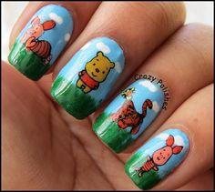 Winnie The Pooh Manicure