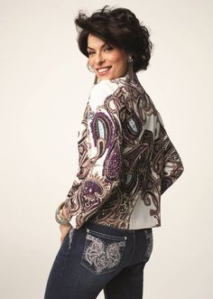 LOVE her hair...Chico's model | Good Hair Days | Pinterest ...