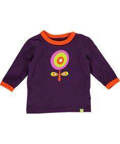 Mala fantastische paarse t-shirt met bloemetjes print. mala.nl.emilea.be