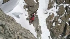downhill running in Aiguille du Tour