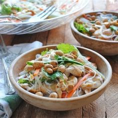 Vietnamese Noodle Salad with Chicken!