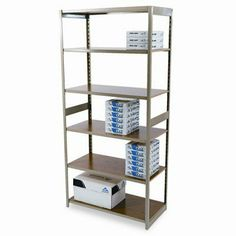 Regal Shelving Starter Set, 6 Shelves, 36w x 18d x 76h, Sand by Tennsco Corp.. $148.88. TNNRGL1836SSD Features: -Shelf Capacity (Weight) : 600 lb.-Height : 76 in.-Global Product Type: Shelving Units/Bookcases.-Shelf Material: Oak Laminate.-Material(s): Heavy Duty Rolled Steel.-Depth : 18 in.-Adjustability: 5 Adjustable Shelves, Shelves Adjust In 1 1/2'' Increments.-Width : 36 in.-Number of Shelves : 6.-Product is in compliance with the governmental EPA/CPG standard...