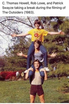 The Outsiders 1983, Trippy Pictures, Rob Lowe, Patrick Swayze, Do You Remember, Lowes, Behind The Scenes, Nostalgia, Take That