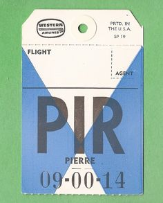 Vintage Luggage Tags, City Airport, Bag Tag, Travel Posters, Ephemera, Printmaking, Westerns, Competition, Cool Designs