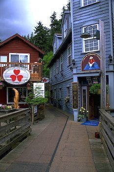 Ketchikan Alaska.  One of the stops we should be stopping at on our cruise.