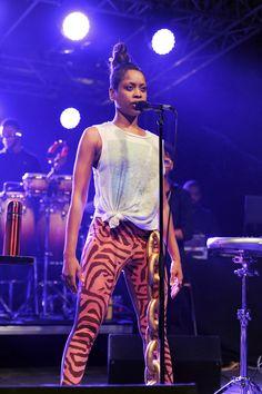 Our live act the soul-singer Erykah Badu