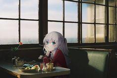 Oppressed and Animed Otaku Anime, Loli Kawaii, Real Anime, Foto Real, Cute Anime Pics, Cute Wallpaper Backgrounds, Anime Artwork, Animes Wallpapers, Anime Art Girl