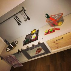 ikea hack kinderk che selbst gemacht selbstgemachtes pinterest ikea hack kinder und. Black Bedroom Furniture Sets. Home Design Ideas