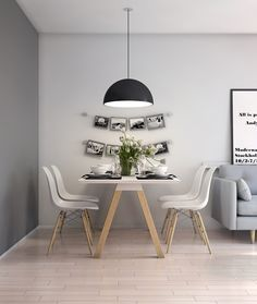 A living room interior which I designed and visualised helping my friend making her dream come true.