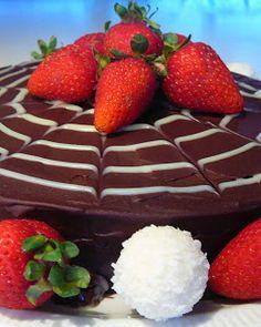 Triple Chocolate Mousse Cake {Gluten Free} | Marcellina in Cucina Triple Chocolate Mousse Cake, Dark Chocolate Chips, Chocolate Ganache, Melting Chocolate, Round Cake Pans, Round Cakes, Cold Cake, Gluten Free Cakes, Amazing Cakes