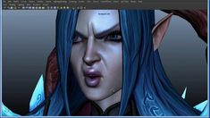 Face Rig and Animation Test (WIP). This is a work in progress of a Facial Rig I… Character Modeling, 3d Character, Character Rigging, 3d Mesh, 3d Video, 3d Face, 3d Tutorial, Character Design References, Learn To Draw