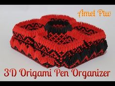 #18 Pudełko w kształcie serca - Origami modułowe - YouTube