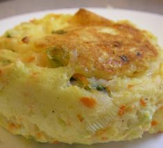 Mashed Potato Vegetable Patties. Easy to make and you can choose the vegetables you want to use in the recipe!