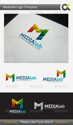 Medialab  - Logo Design Template Vector #logotype Download it here: http://graphicriver.net/item/medialab-logo-template/3291544?s_rank=397?ref=nexion